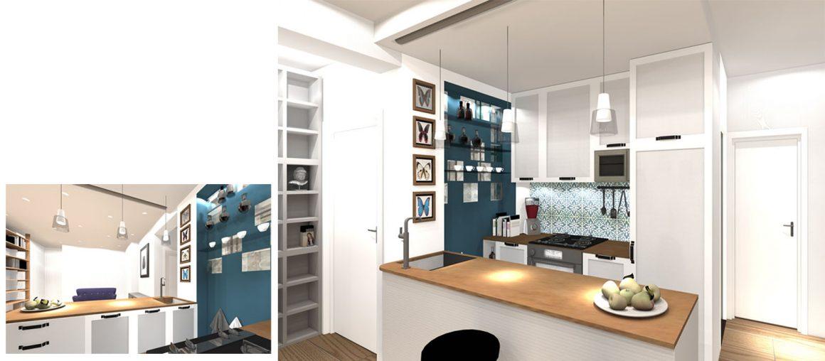 02 un esprit loft-modelisation 3d cuisine
