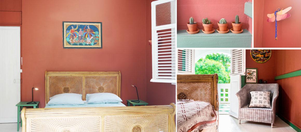Helene Quillet-renovation villa privee martinique 972 chambre rdc 01