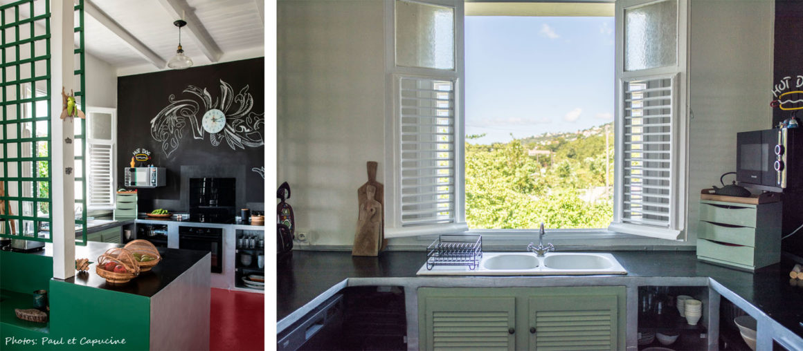 Helene Quillet-renovation villa privee martinique 972 cuisine