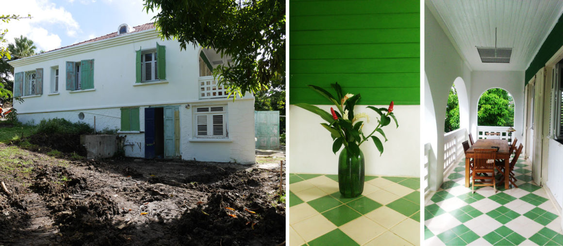 Helene Quillet-renovation villa privee martinique 972 existant 01
