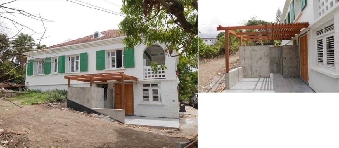 Helene Quillet-renovation villa privee martinique 972 sdb exterieure 02