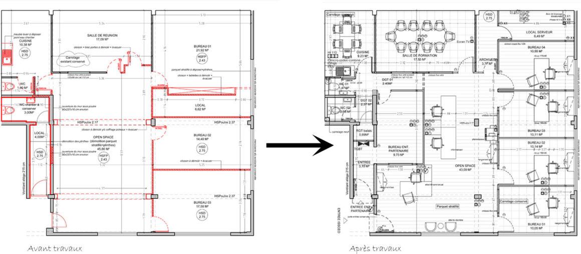 Helene Quillet-renovation bureaux-martinique 972 mes actus plans 02