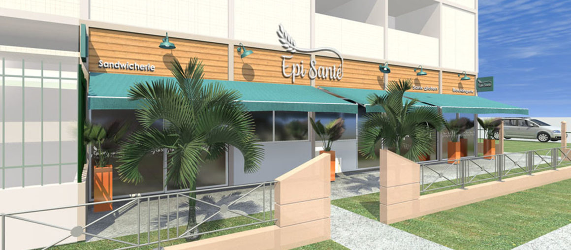 HQ-architecte interieur-Epi Santé-modelisation 3D facade exterieure 02