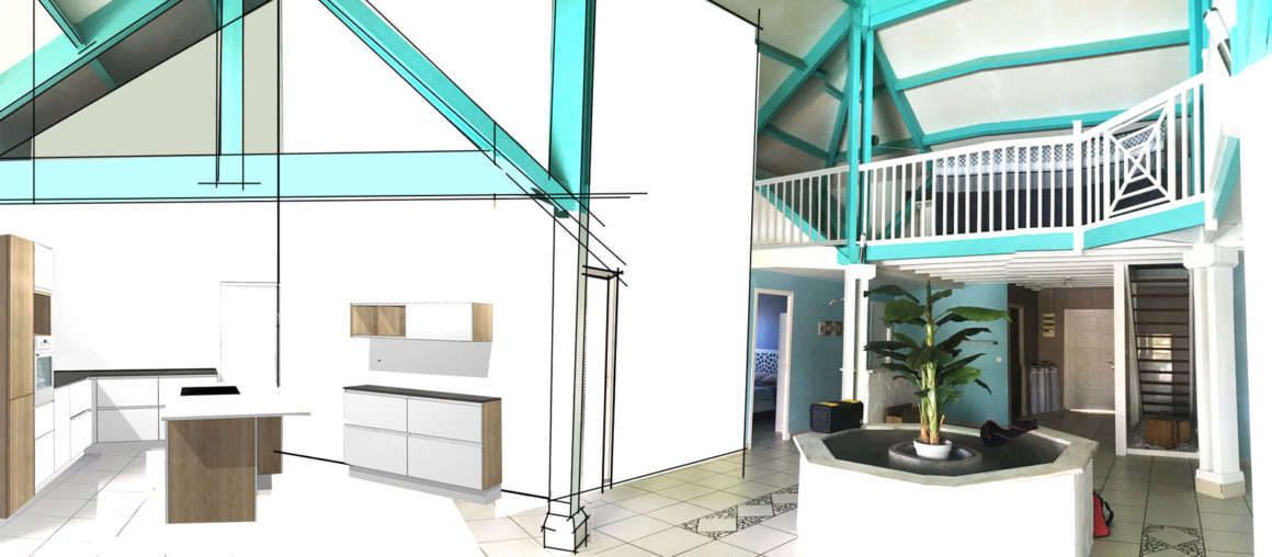 Helene Quillet-renovation villa privee martinique 972 mes actus modelisation 3d 05