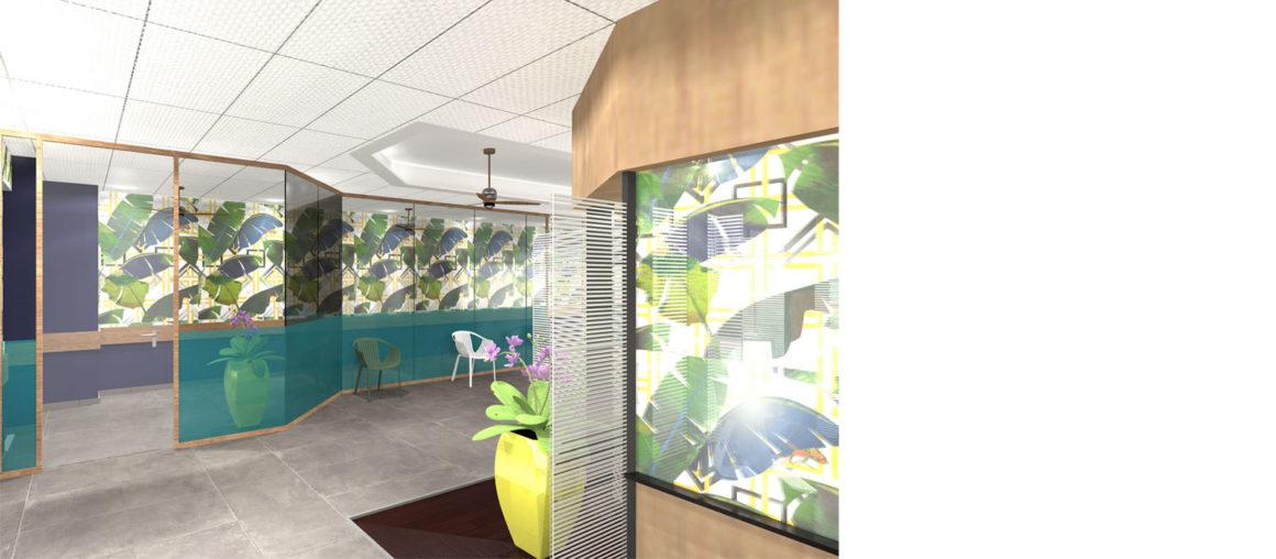 helene quillet clinique saint paul renovation modelisation 3D 2