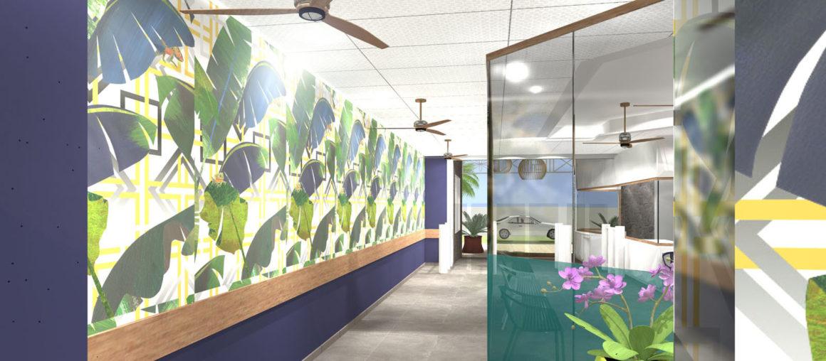 helene quillet clinique saint paul renovation modelisation 3D 3