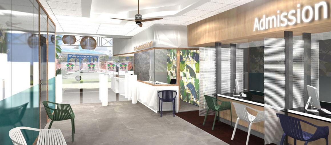 helene quillet clinique saint paul renovation modelisation 3D 4