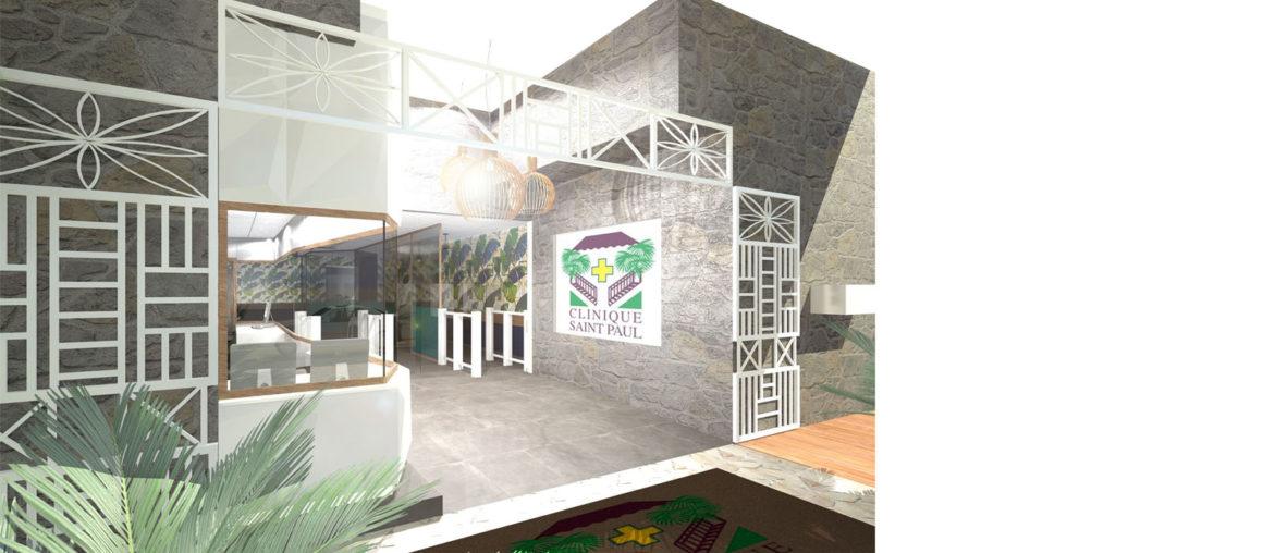 helene quillet clinique saint paul renovation modelisation 3D 6